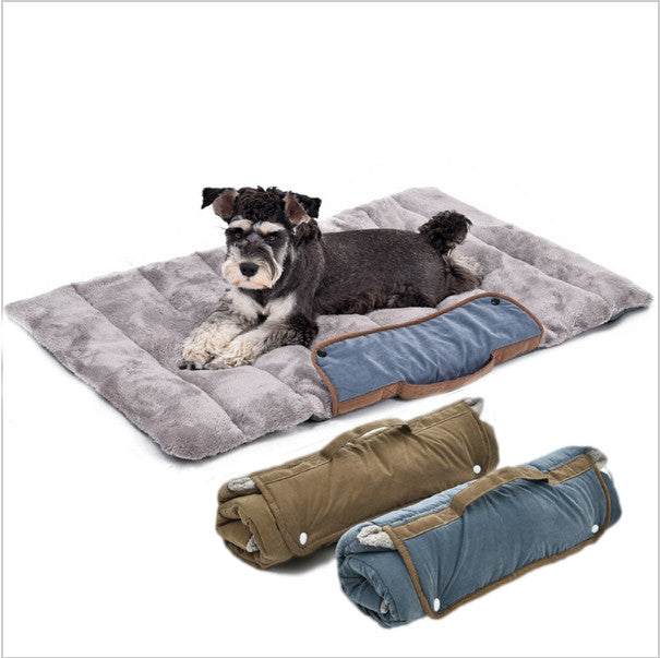 Travel Dog Bed >> Foldable Comfy Easy Storage Travel Pet Bed With A Soft Cushion