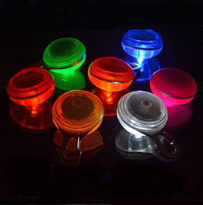 Bright Pet Dog, Puppy, Cat & Kitten LED Night Safety Flash Light for the Collar