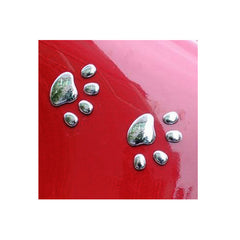 Cute 3D Paw Prints Car Window or Bumper Sticker / Vehicle Decal Decoration
