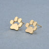 Image of Cute Cat and Dog Paw Stud Earrings - FOURPAWPALS