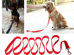 Quality Training Leash / Lead for your Puppy and Dog - Various lengths and colours - FOURPAWPALS
