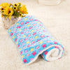 Image of Gorgeous Soft Pet Blanket for your Puppy, Dog, Kitten or Cat - Small / Medium / Large Blue