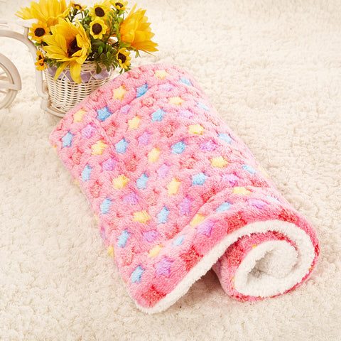Gorgeous Soft Pet Blanket for your Puppy, Dog, Kitten or Cat - Small / Medium / Large Pink