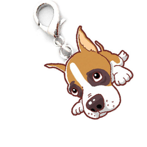 Cute Pet Dog Small Pendant Identity Keychain Tags for the collar - FOURPAWPALS