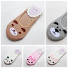 Image of Fashion Funky Dog & Cat Invisible Cotton Socks / Liners for Women & Kids - FOURPAWPALS
