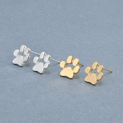 Cute Cat and Dog Paw Stud Earrings - FOURPAWPALS