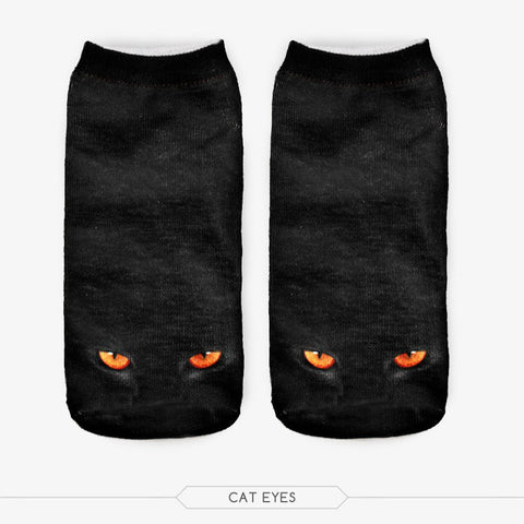 Huge Range of Unisex Cute Cat 3D Pattern Socks - FOURPAWPALS