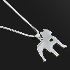 Cute & Stylish Dog Family Stroll Design Pendant Necklace - Different Breed Designs