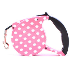 5 Metre Automatic Retractable Pet Puppy & Dog Leash / Lead - Funky Designs