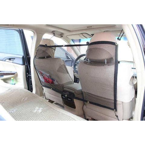 High Quality Anti-Collision Mesh Pet Dog & Cat Barrier for your Car / Vehicle - FOURPAWPALS
