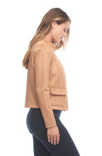 Load image into Gallery viewer, Faux Suede Button Front Jacket