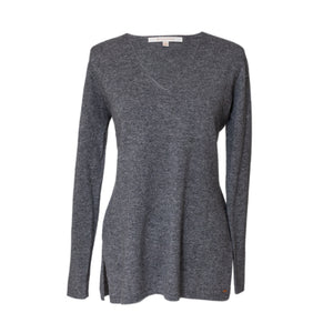 Grey Cashmere Tora V Neck Sweater
