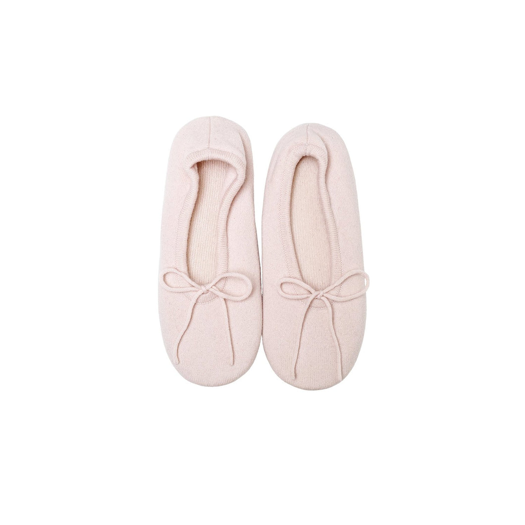 pink Ballerina Cashmere Slippers