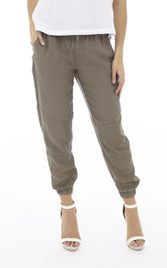 Drawstring Pant with Elastic Waist and Pockets