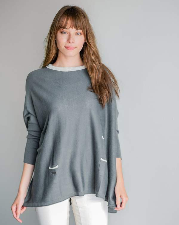 The Catalina Crew Neck Traveler Sweater