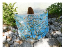 Load image into Gallery viewer, Almond Blossom Silk Blend Scarf