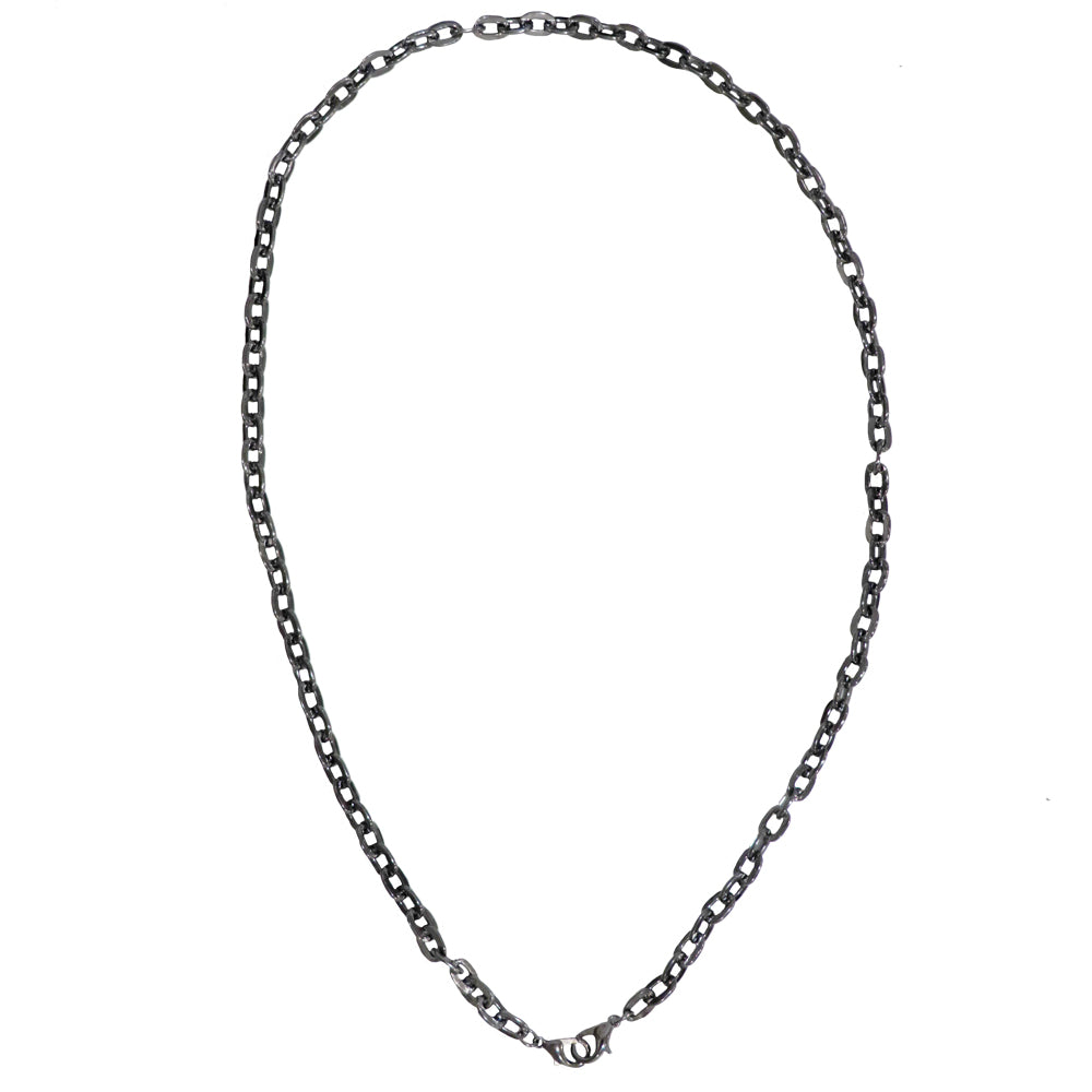 Hematite Grey Chain Mask Holder