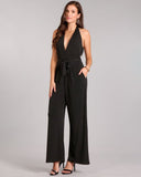 Solid Knit Jumpsuit
