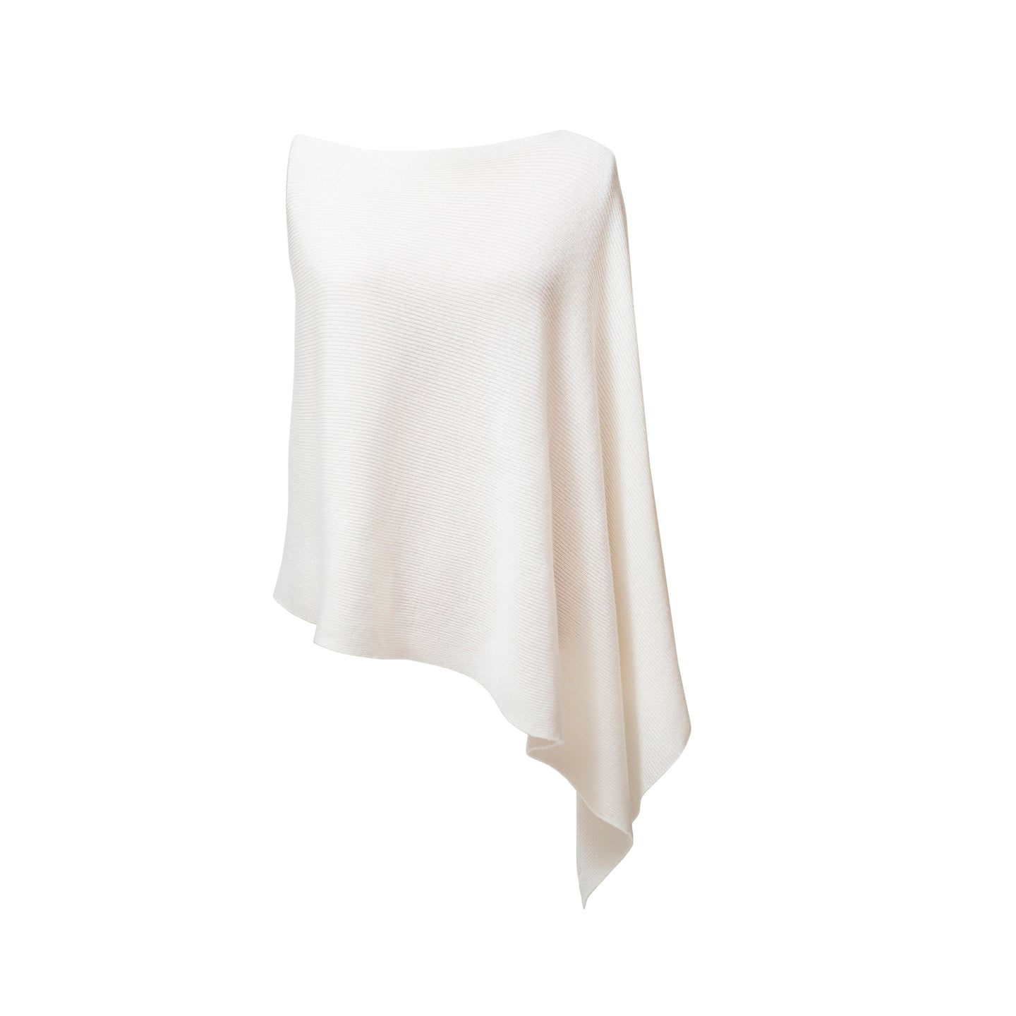 Lily2 Ribbed Poncho