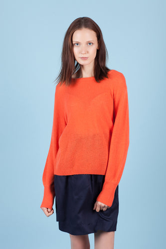 Light Weight Round Neck Cashmere Sweater