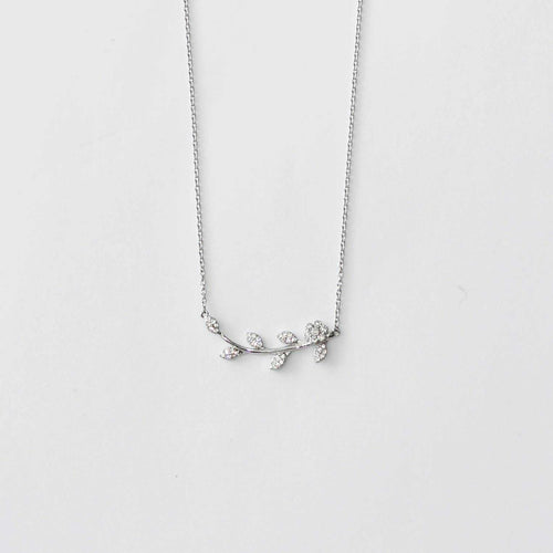 Leaf Sterling Silver Necklace
