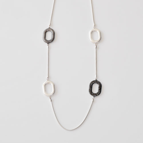 Oval Fashion Necklace