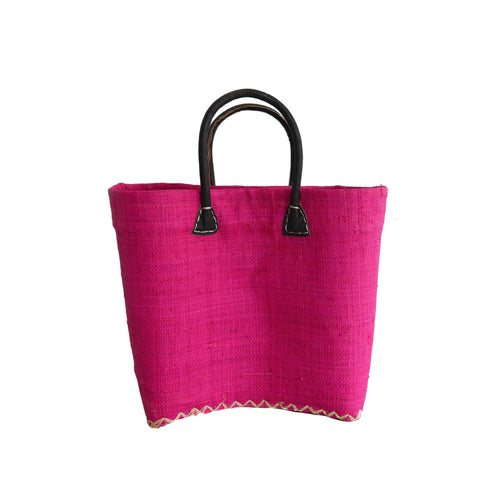Pink Small Market Basket/Tote