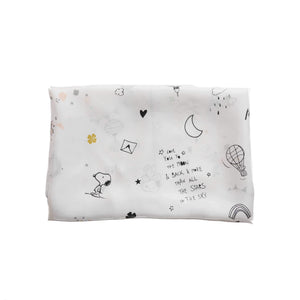 Snoopy Luck and Love Scarf