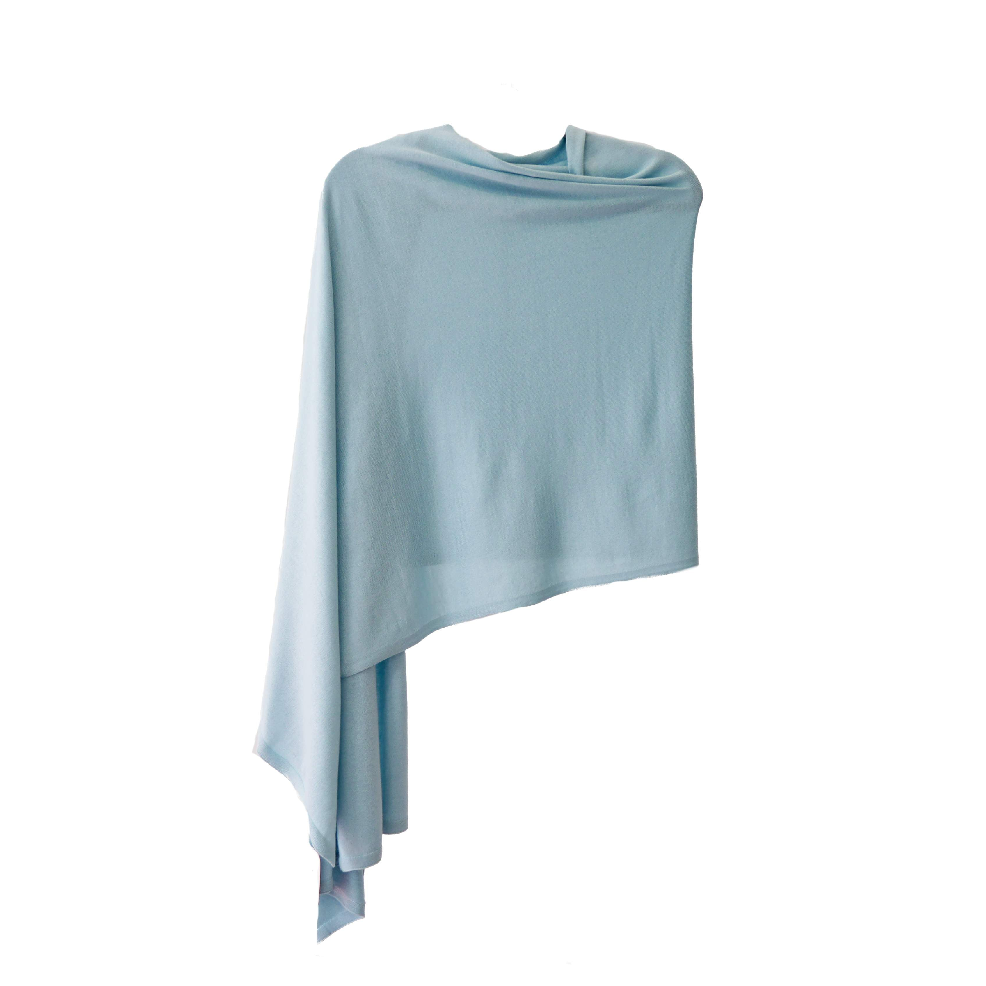 Pansy Wrap Silk Cashmere
