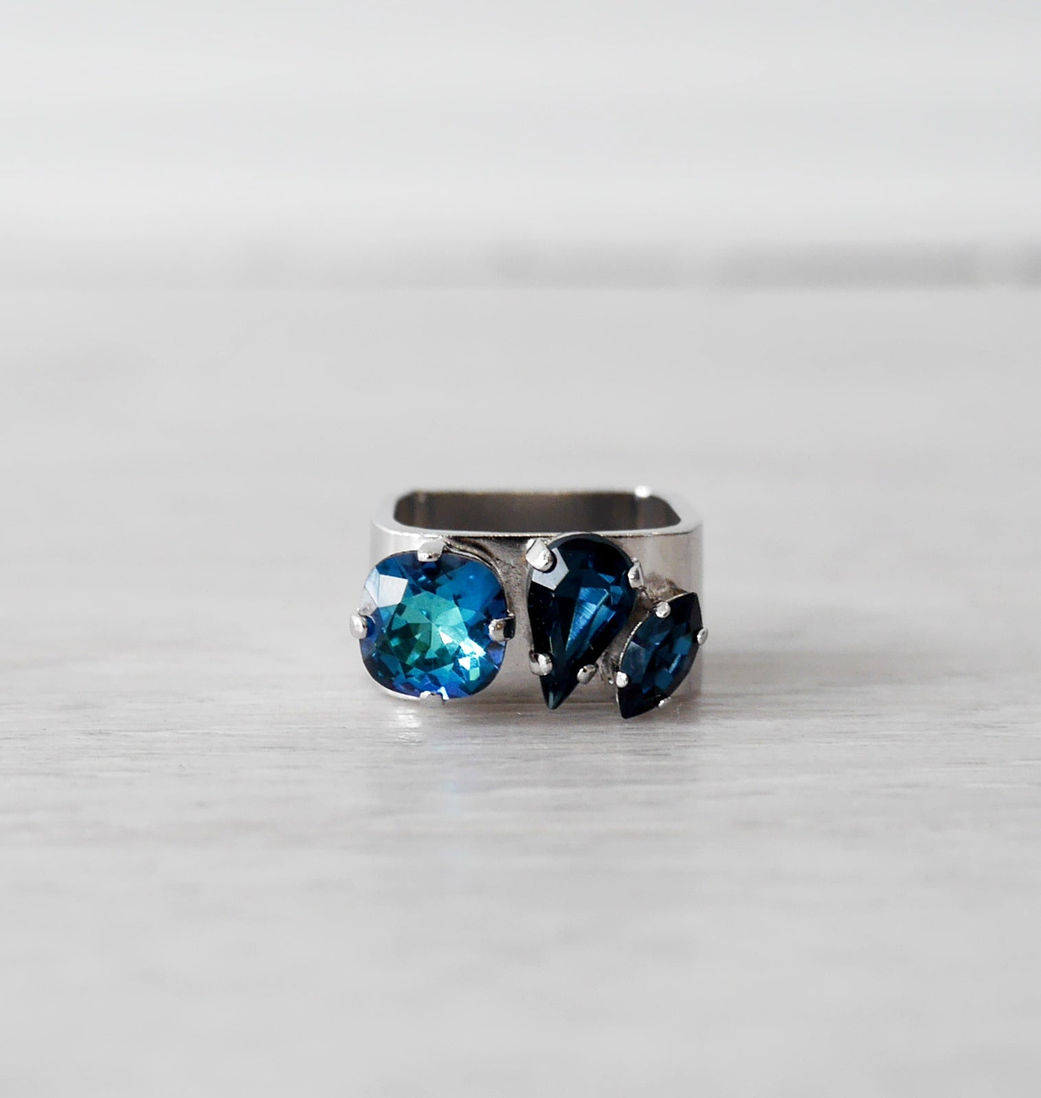 Blue Jewel Ring