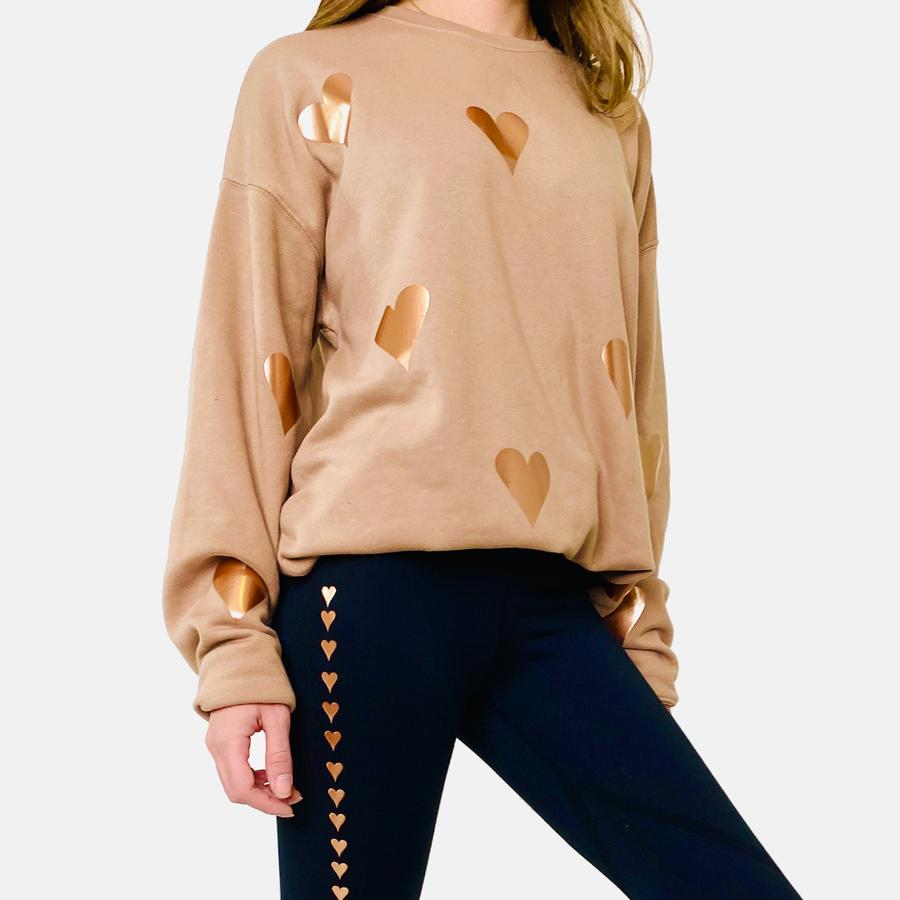 Poppy Heart Sweatshirt