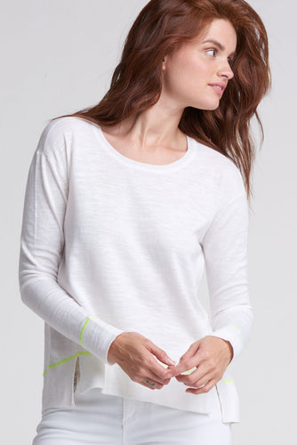The Hang Out Top - White
