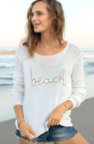 beach sweater wooden ships