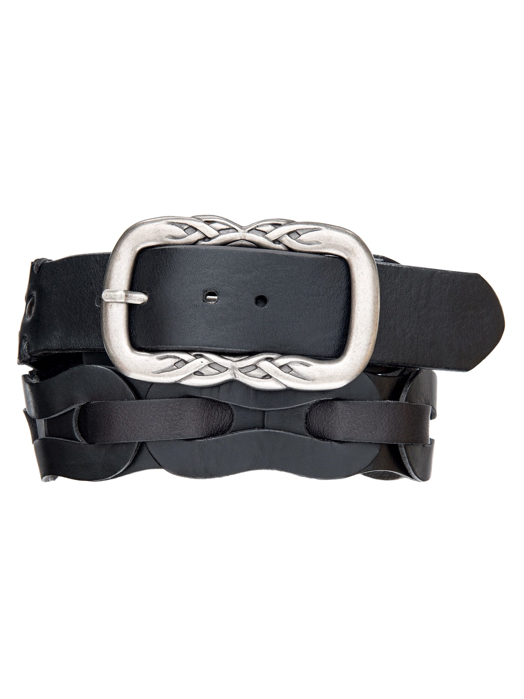 Linked and Woven Wide Hip Belt