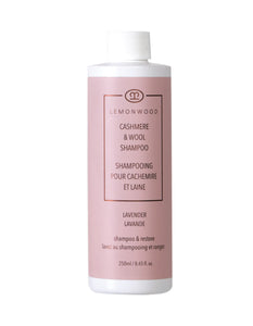 Cashmere Lavender Oil Cashmere and Wool Shampoo 250ml