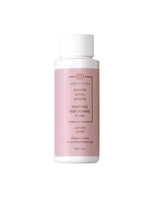 Cashmere Lavender Oil Cashmere and Wool Shampoo 60ml