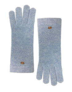 blue Cashmere Gloves
