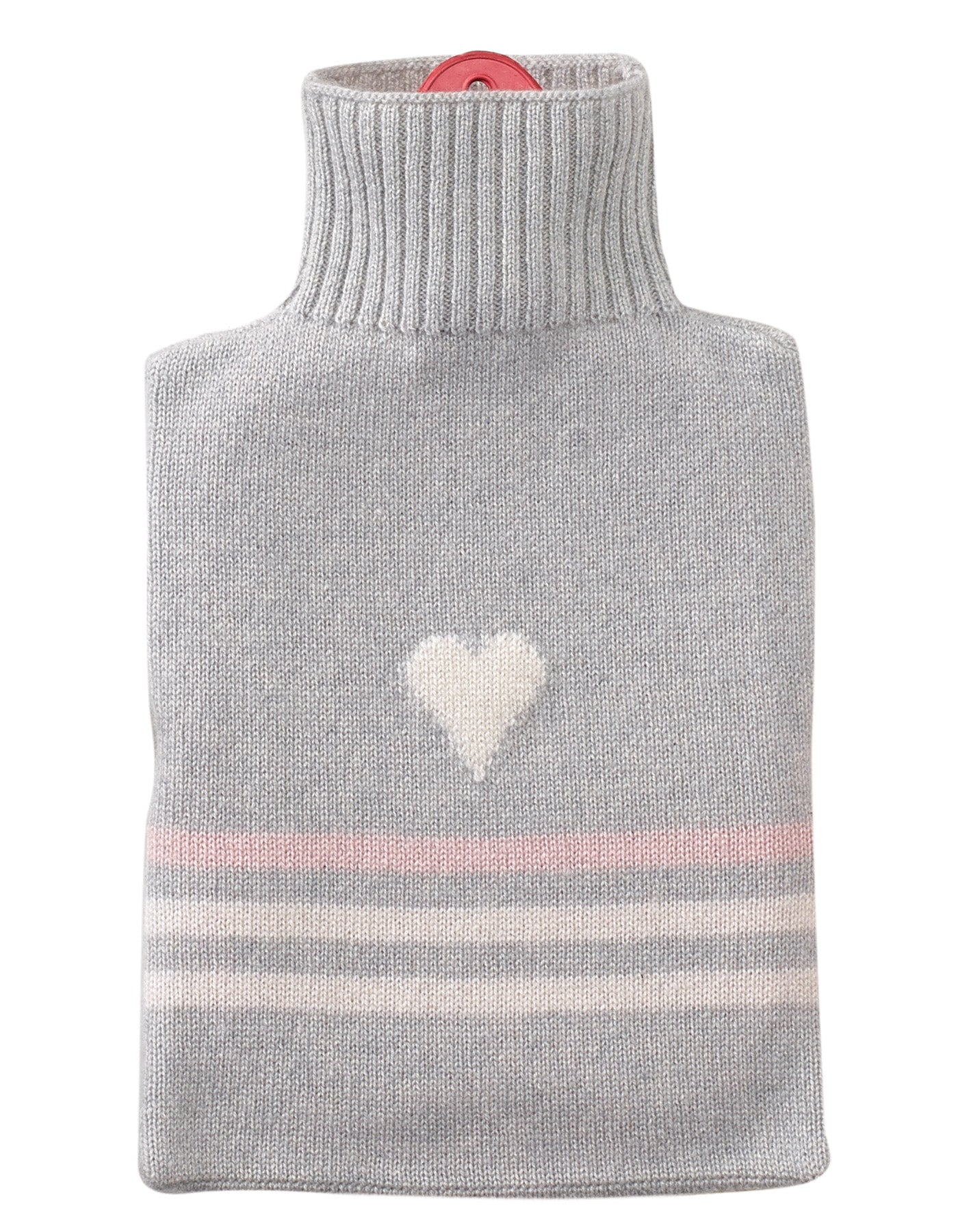grey Cashmere Hot Water Bottle