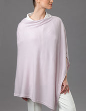 Load image into Gallery viewer, Purple Cashmere Lotus Poncho