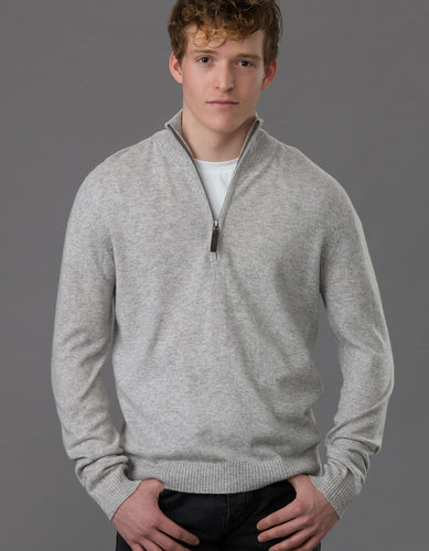 Men's Zip Sweater