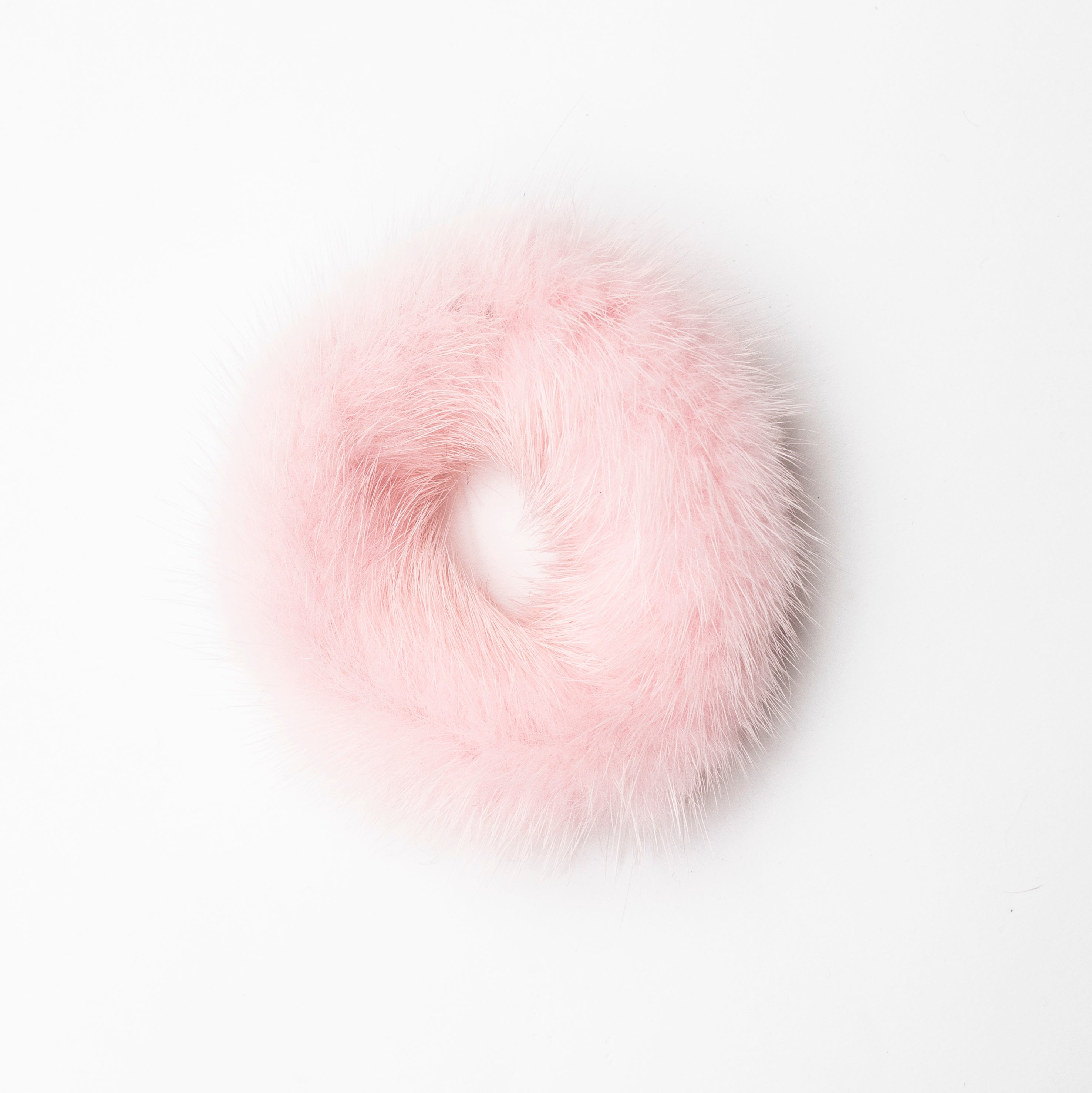Mink Fur Hair Elastic