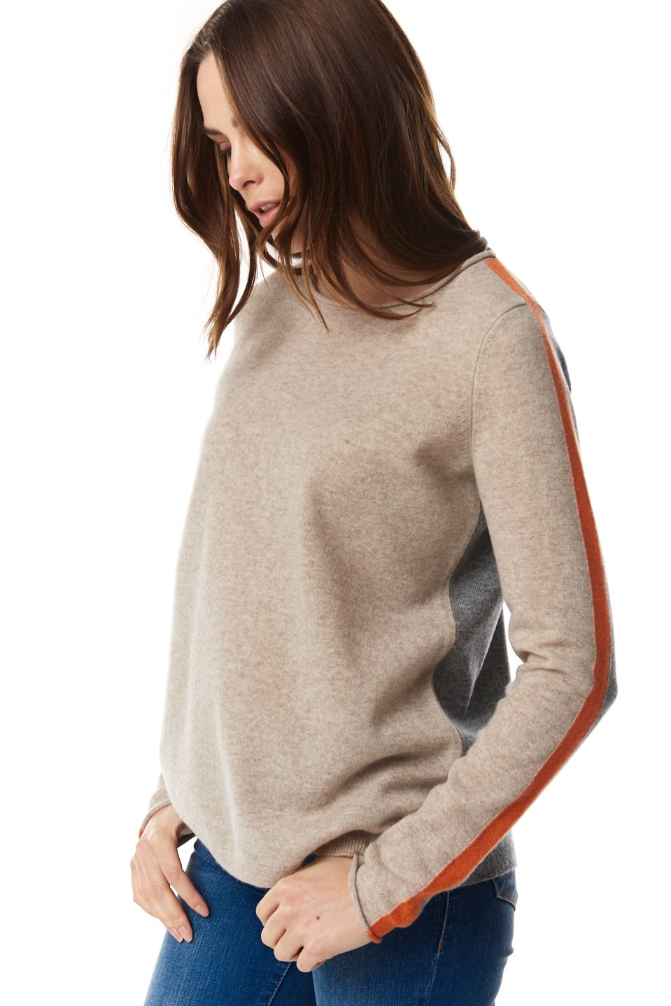 Three's Company Rolled Neck Sweater
