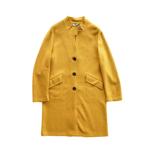 Wool Coat With Buttons