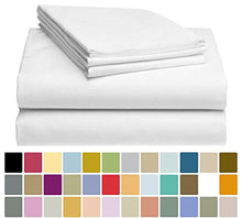 LuxClub Bamboo Sheet Set - Viscose from Bamboo - Eco Friendly, Wrinkle Free, Hypoallergentic, Antibacterial, Moisture Wicking, Fade Resistant, Silky, Stronger & Softer than Cotton - White Full