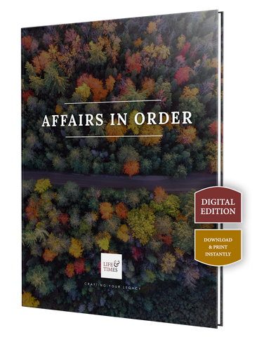 Affairs in Order - Digital Download