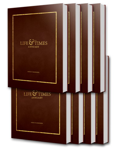 Life & Times Annuary: Wayfarer Edition | 8-Pack
