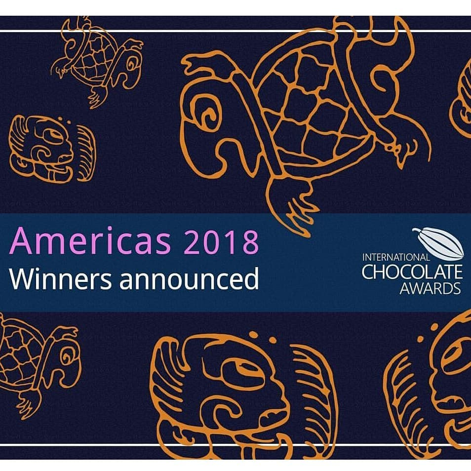 International Chocolate Awards 2018