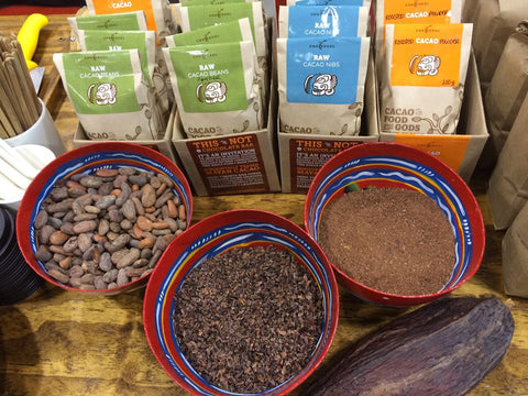ChocoSol Cacao Beans Nibs Powder