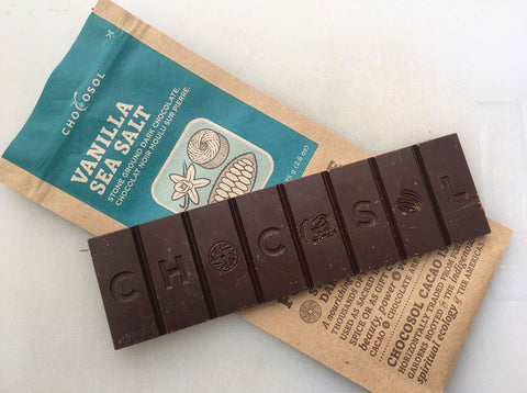 ChocoSol Vanilla Sea Salt Dark Chocolate