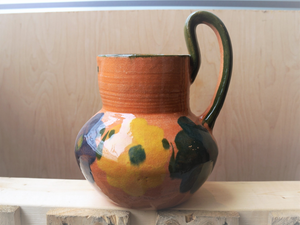 Clay Pitcher Large